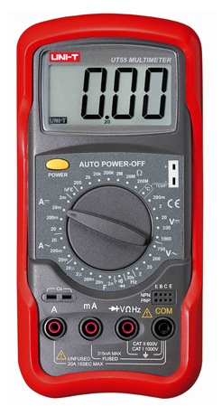 Uni-T UT55 Digital Multimeter tester